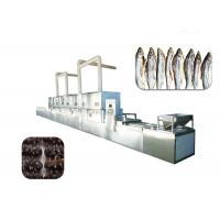 China 380v Conveyor Belt Meat Thawing Machine For Defrosting Frozen Meat / Aquatic Products wholesale