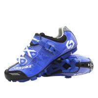 China Outdoor Mens SPD Cycling Shoes , Cycling Sneakers Mens Good Shock Absorption on sale