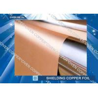 China High bendability Rolled Copper Shielding Foil Shielding for CCL , FCCL , PCB wholesale