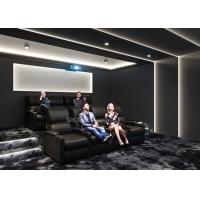 China Theater Movie Projector Home Cinema System With 7.1 Speakers / Reclining Chairs wholesale