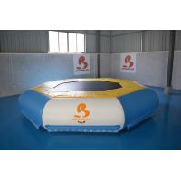 Buy cheap TUV Certificate Inflatable Floating Water Trampoline For Lake from wholesalers