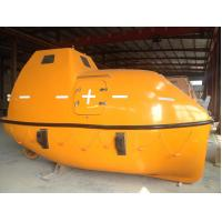 China Solas Marine Totally Enclosed Gravity Luffing / Flatform Davit FRP Life Rescue Boat wholesale