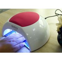 China Unique Low Heat Led Gel Nail Lamp , Electric Infrared Gel Nail Machine 365 + 405nm wholesale