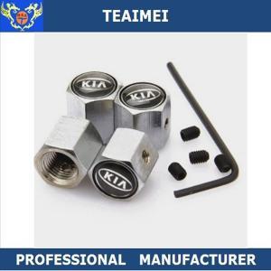 China Professional Car Logo Metal Car Tire Valve Caps With Anti - Theft wholesale