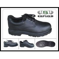 China mens pvc safety shoes steel toed work shoes for men miner shoes black wholesale