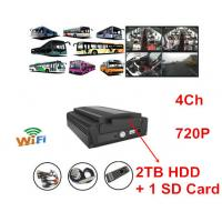 China HDD Car Mobile DVR 2TB Automotive DVR Recorder For Bus Truck on sale