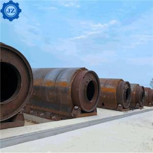 China 30T-50T Batch Type Waste Tyre Oil Pyrolysis Plant For Recycling Used Tire wholesale