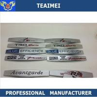 China Decorative Efficiency Power And Sport Decal Car Fender Emblems wholesale