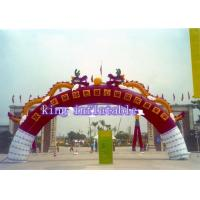 Buy cheap Water Proof Oxford Fabric Inflatable Arches For Festival / Advertise 4m Hight from wholesalers