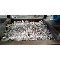China PVC waste pip Shredder machine Double shaft Shredder machine made in China with good feedback high capacity and low cost wholesale