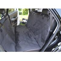 China Non Slip Padded Pet Car Seat Covers Black Double - Stitching 137cm × 147cm on sale