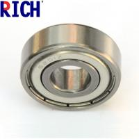 China Chrome Steel Ball Bearing 6201 For Automobile With One Side Rubber Seal Ring wholesale