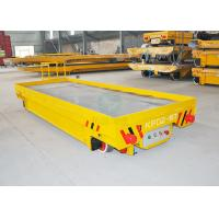China 10T Bangladesh steel plant using electric rail cart powered by 36v low voltage wholesale