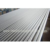 China A249 TP304 / TP304L Welded Tube , Extruded Solid  Fin Stock For Heat Exchangers on sale