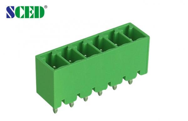 Quality Male Sockets Plug In 3.81mm Terminal Blocks 300V 8A 2 Pole - 22 Pole UL CE for sale