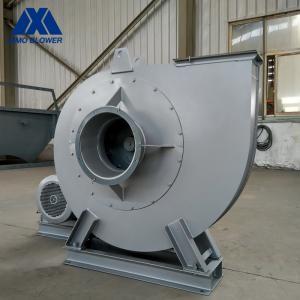China Flue Gas Denitrification Boiler Fan Centrifugal SIMO Blower Anti Abrasive on sale
