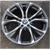 China manufacture auto rims 20 inch 120(mm) PCD aluminium wheels gun grey machined face