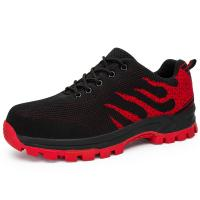 China Anti Slippery Safety Running Shoes Breathable Lightweight Mesh Upper wholesale