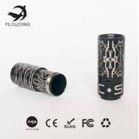 China Packaging Box Stainless Steel E Cigarette , Black Electronic Cigarette wholesale