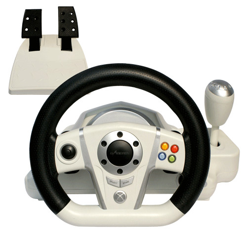 Quality Adjustable Wireless / Wired PC Game Racing Wheel For Platform for sale