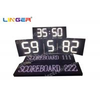 China Polo Sport Electronic LED Scoreboard in white color with Electronic Led Team Name wholesale