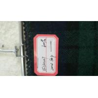 China One Sided Green Tartan Fabric 20% Wool , Scottish Plaid Fabric With Horizontal / Vertical Line wholesale