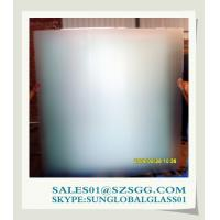 China Frosted shower screen Glass on sale