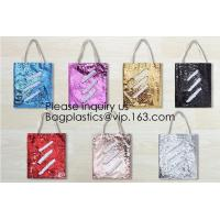 China Sequin Shoulder Bag Sequins Crossbody Bag Glitter Sparkling Small Tote Bags Girls Hit Color Handbags, bagease, bagplasti wholesale