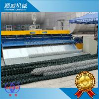 China Automatic Chain Link Fencing Machine / 0.5m - 4.2m Weaving Breadth wholesale