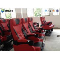 China Exciting 4D Cinema Equipment Seats Can Movement From Front To Back 50 - 200 Seats wholesale