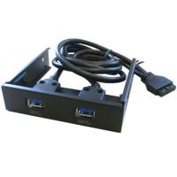 China Front Panel Bay USB3.0 Internal Adaptor, Internal USB 3.0 2port Front Panel with 20-pin wholesale