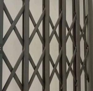 China Burglar Proof Retractable Window Grilles , Aluminium Burglar Bars For Window on sale