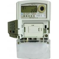 China Remote Control STS Prepaid Meters 3X240V Single Phase Watt Hour Meter Back - End wholesale