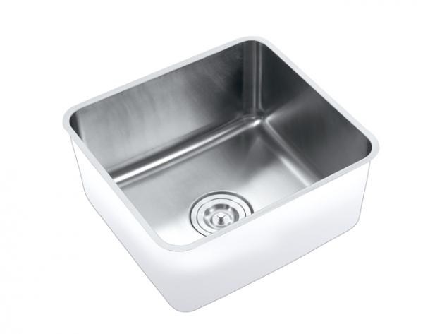 Undermount kitchen sink images for Colored stainless steel sinks
