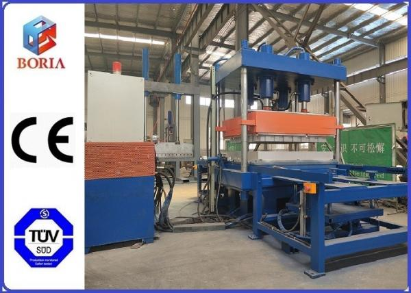 Quality Four Cavities Rubber Vulcanizing Press Machine / Rubber Tile Making Machine for sale