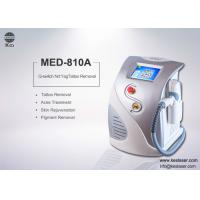 China High Power Dark Age Spot Removal Q-Switched ND YAG Laser Machine 532nm / 1064nm wholesale
