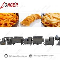 China Commercial French Fries Production Line|Industrial French Fries Processing Line|Automatic French Fries Making Line wholesale