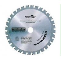 China OEM Trapeze shaped tooth TCT circular saw blades for cutting metals on sale