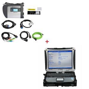 Buy cheap Multi-language WIFI MB Star SD C4 Mercedes Benz Diagnostic Tool Plus Panasonic CF19 I5 CPU 4G RAM from wholesalers
