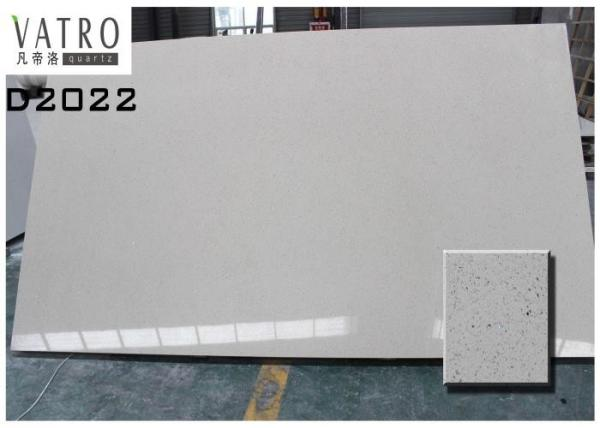 Quality Artificial Gray Quartz Kitchen Countertop Slabs Blue Color Durable And Beautiful for sale