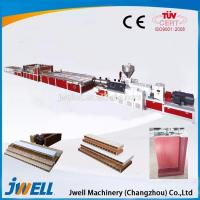 China High quality useful WPC/PVC door panel extrusion line / plastic extrusion wholesale