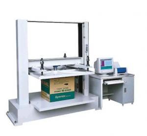 Buy cheap appareil de contrôle de compression de la boîte 850kg/machine d'essai résistance à la pression de papier from wholesalers