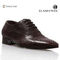 China New style men leather branded shoes on sale