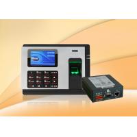 China USB Host stand alone proximity access control system Built In Battery With Workcode wholesale