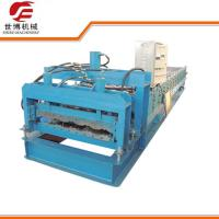 China Glazed Roofing Tile Cold Roll Forming Machine For Building Roof wholesale