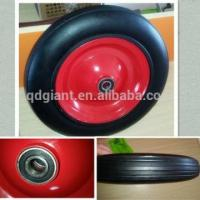 China Solid rubber wheel wheelbarrow tyre with good bearing on sale