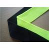 China Blue Plain Woven Jacquard Ribbon Elastic , Decorative Trim Ribbon wholesale