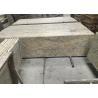 China Golden Solid Granite Countertops , Kitchen / Bathroom Granite Countertop Slabs wholesale