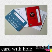 China Matt RF ID Dual Interface Smart Card With Magnetic Stripe For School / Company wholesale