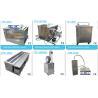 China Banho impermeável líquido de limpeza ultra-sônico industrial usado, peças industriais & limpeza das ferramentas wholesale